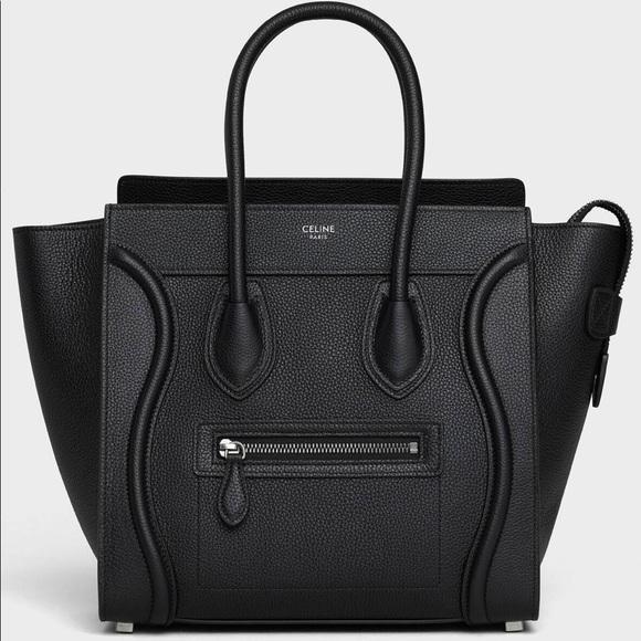 Celine Handbags - Celine micro luggage